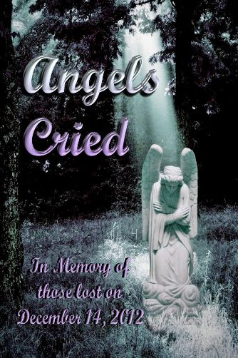 Cover of Angels Cried anthology