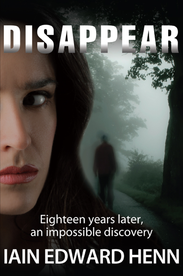 Book cover of Disappear by Iain Edward Henn