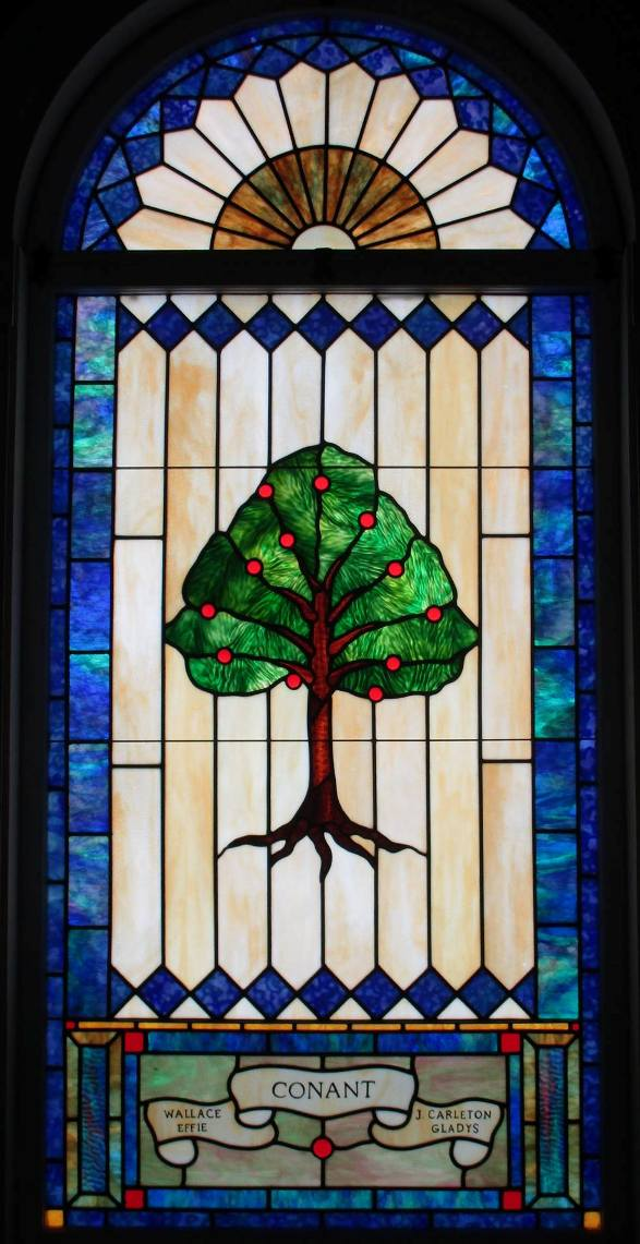 Nel Bernard's Tree of Life window
